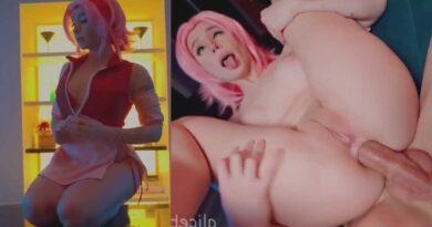 Sakura Haruno anal sex - Alice Bong - Sakura hentai porn fuck cosplay bikini ONLYFANS