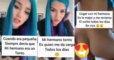 TikTok Girl 2021 - incest relationship with his brother Porn Video +18